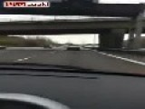 Watch This Guy Freak Out After Seeing A Mclaren P1 On The Motorway