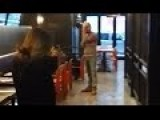 Women Pulls Out A Gun And Threatens To Shoot During A Fight Inside Restaurant!
