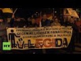 Watch PEGIDA Protest In Dresden And Leipzig Germany Live NOW!