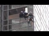 WTF - Man Tries To Scale Trump Tower In NYC Using Suction Cups, Pulled Inside Building