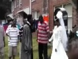 WEDDING In The PROJECTS = Ghetto Style =