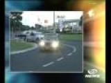 Wild Car Chase In Auckland New Zealand