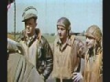WW II : RARE COLOR FILM : MEMPHIS BELLE : 25TH MISSION