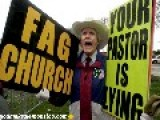 "Westboro Baptist Church Founder Fred Phelps Sr. ""on The Edge Of Death,"" Son Says"