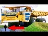 World's Largest Mining Truck In Action In A Belarusian Surface Mine: BELAZ 75710