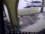 Wolf Attacks Bystanders In The City Of Tiberia. Caught On Security Cam