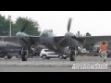 WWII Fighter Engine Startups - F4U, P-51s, Mosquito, Spitfire - Thunder Over Michigan 2015