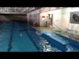 When Earthquake STRIKES Chile . Swimming Pool