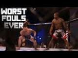 Worst Fouls In MMA - HAHAHAHA!!