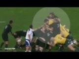 Watch The Moment Owen Franks Appears To Eye Gouge Kane Douglas