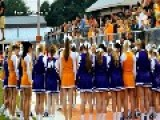 WATCH Cheerleaders United In Defiance Of School Ban, Exciting The Crowd