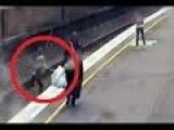Watch As This Hero Saves Child From Train