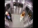 WTF Extremely Scary Ghost Elevator Prank In Brazil