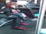 Woman Throws Child Aside To Get Into A Fight