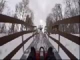 Winter Ride Alpine Coaster
