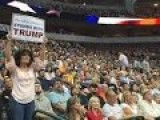 Watched Donald Trump Speaking In Front Of Thousands Of Citizens In Dallas