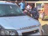 Woman Pummels Husbands Automobile - Due To An Illicit Affair