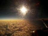 Watching Total Solar Eclipse From Plane