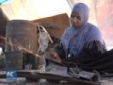Woman In Gaza Strives To Make Living By Working As Blacksmith