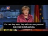 What Merkel Had Really Meant To Say In Her Immigration Speech