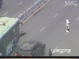 Woman Runs Into Bus To Commit Suicide