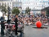 Weird Performance In The Streets Of Stockholm, 2014 08 12 Kulturfestivalen