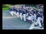 West Point Cadet Texting While Marching