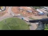 Watch Brazilian Cops Shoot Fleeing Suspects From A Helicopter