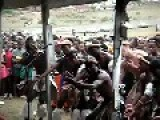 White Guy Joins In With Zulu Choir