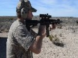 West Fork Armory Model-X 300 Blackout Machinegun Suppressed - Shooting Both Subsonic And Super Sonic