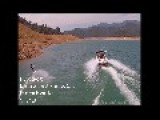 Wakeboarder Indulges In California's Shasta Lake