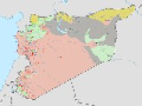 WAR MAP OF SYRIA MAY 15 2014 Deir Ez Zor UPDATED