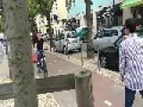 Wheelie With One-Wheeled Bike Fail