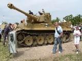 WW2 Tiger Tank 131 Drive Past