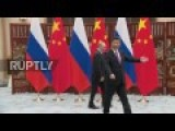 Xi Deeply Moved By Putin's Gift Of Russian Ice Cream