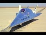 X-24B Dramatic Landing At Edwards AFB