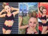 Young Girl Dances To Celebrate Construction In Christchurch