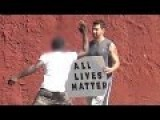 YouTuber Savagely Attacked By Blacks Over Holding Up An All Lives Matter Sign!