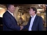 Yanukovich Meets Gabriel Gatehouse - Newsnight