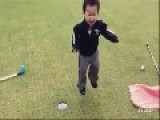 Young Golfer Learns Early
