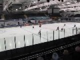 Young Austrian Hockey Players Fight