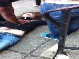 Young Woman Overdoses On The Sidewalk In Philadelphia's Drug-ridden Kensington Neighborhood