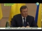 Yanukovich Sends A Subliminal Message