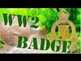 You Wont Believe What I Found Metal Detecting! A WW2 Badge In The Woods!