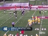 Youth Football Team Pulls Off An The Ugly Kardashian To Win Game = TOUCHDOWN! =