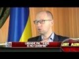 Yatsenyuk: Putin Doesn't Only Wants To Take Over Ukraine, He Wants To Conquer The World!