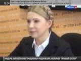Yulia Tymoshenko Thanks The People Who Set The Trade Union Building Ablaze