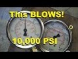 Youtube Guy Tests Hydraulic Gauge To Destruction