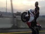 Yamaha R1 Wheelie Lahore Pakistan