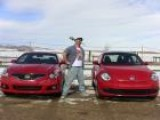 2012 VW Beetle Vs Nissan Altima Coupe: Valentine&#39 S Day Mashup Review